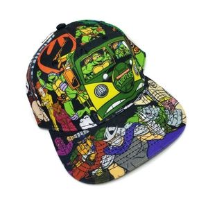 Retro TMNT snapback Hat, excellent condition.